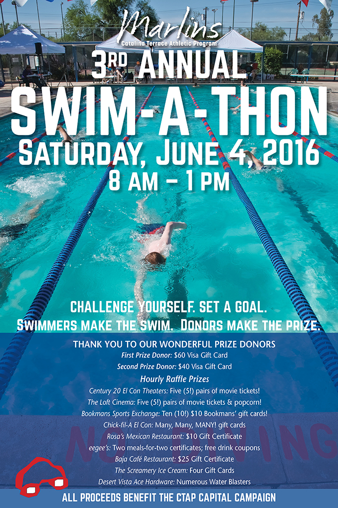 2016 Catalina Terrace Marlins Swim-a-Thon