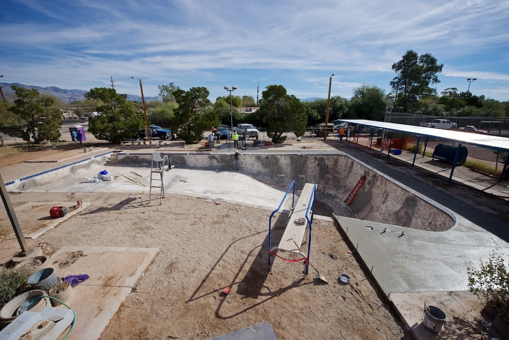 Deck pour day one…